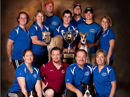 flyball team