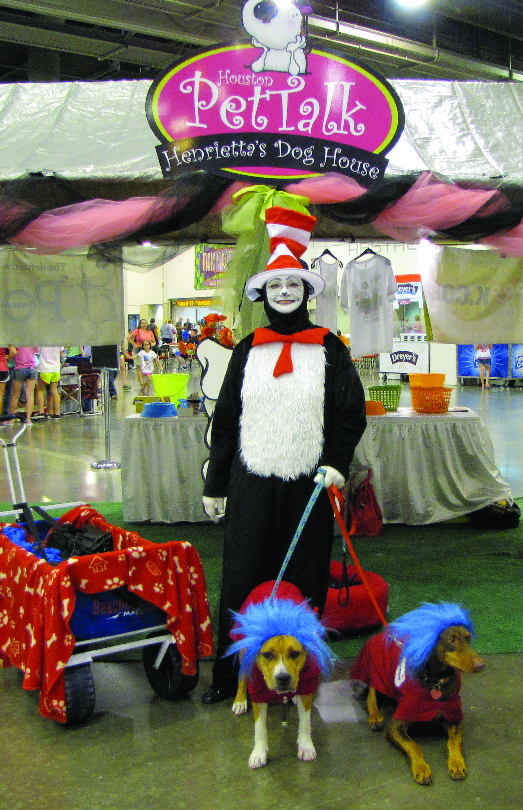 thing 1 and 2 dog show houston pettalk