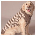Warm Chevron Sweater $33-40 at Doggy in Wonderland