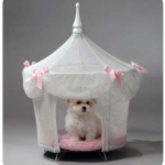 Sugarplum Princess Dog Bed $150 at Doggy in Wonderland