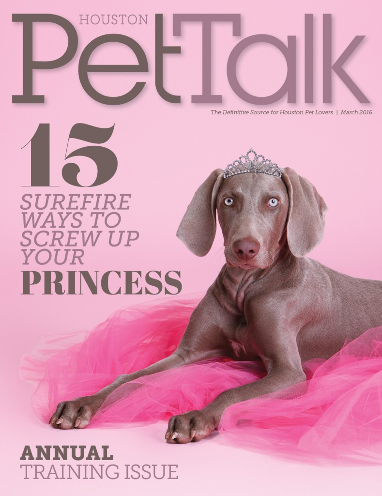 PetTalk 112 March 2016 Cover
