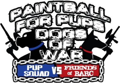 Pup Squad VS Friends of BARC: Epic Paintball Battle!