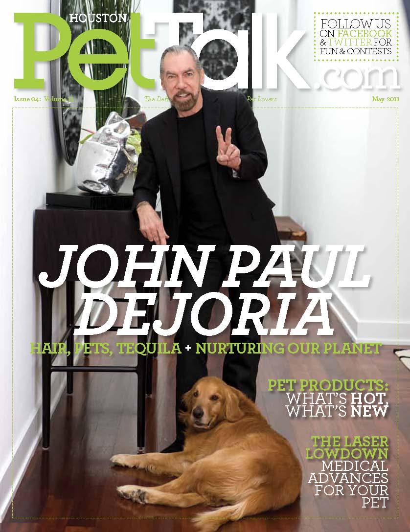 May Issue of Houston PetTalk Features John Paul DeJoria