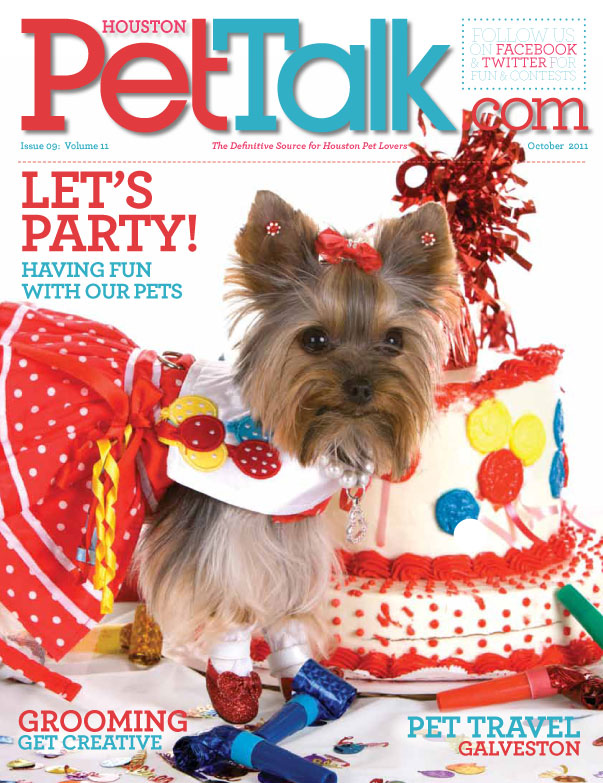 October 2011 Digital Issue of Houston Pet Talk