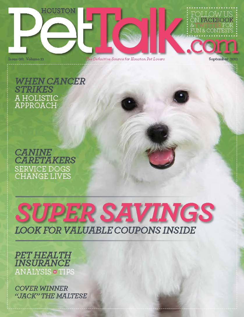 September 2011 Digital Issue of Houston PetTalk