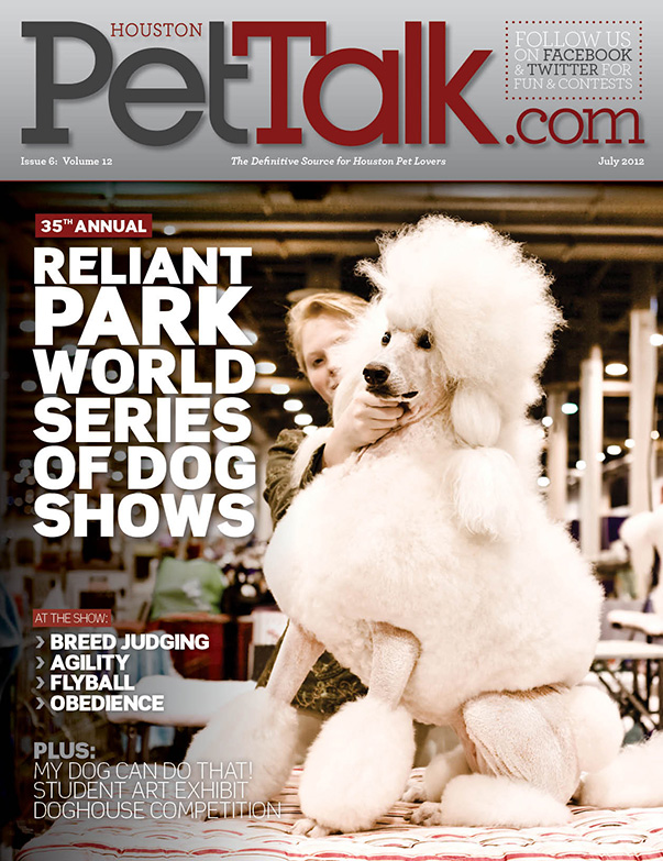 July 2012 Digital Issue of Houston PetTalk