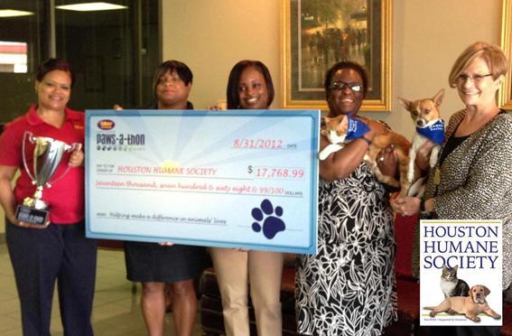Houston Humane Gets Big Donation