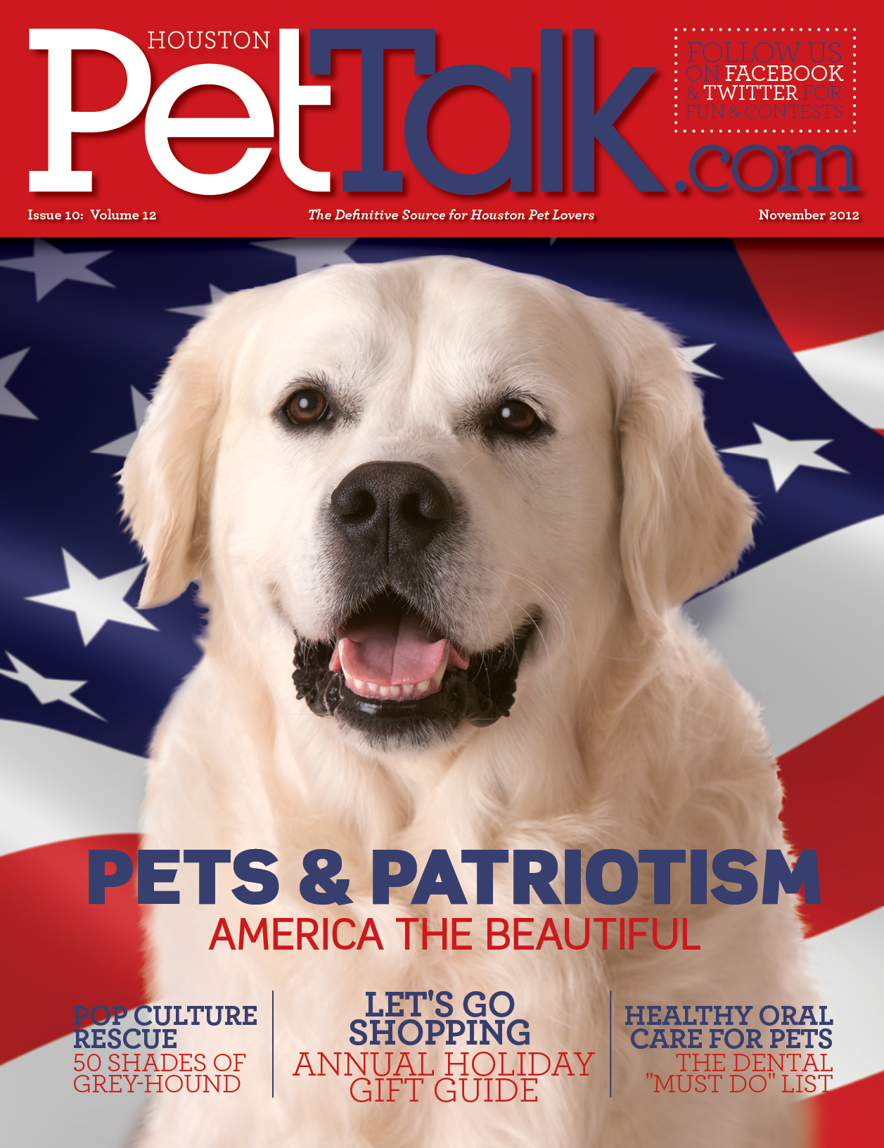 November 2012 Digital Issue of Houston PetTalk