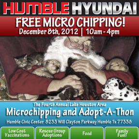 Free Microchipping and Adopt-A-thon