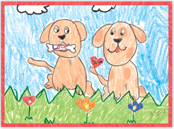 Houston Young Cancer Patients Pet Artwork