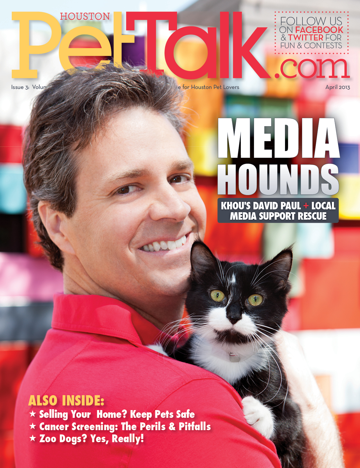 April 2013 Digital Issue of Houston PetTalk