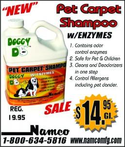 Namco Shampoo August 2013