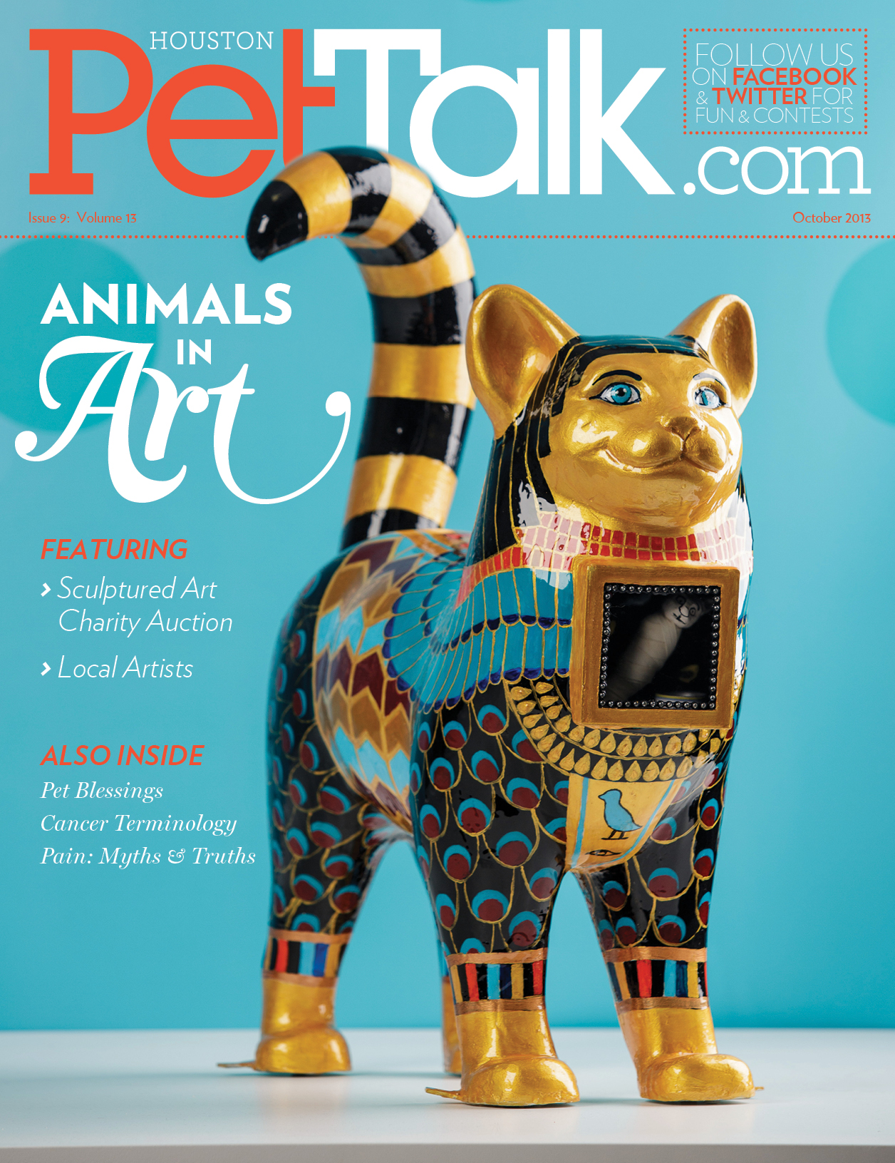 October 2013 Digital Issue of Houston PetTalk