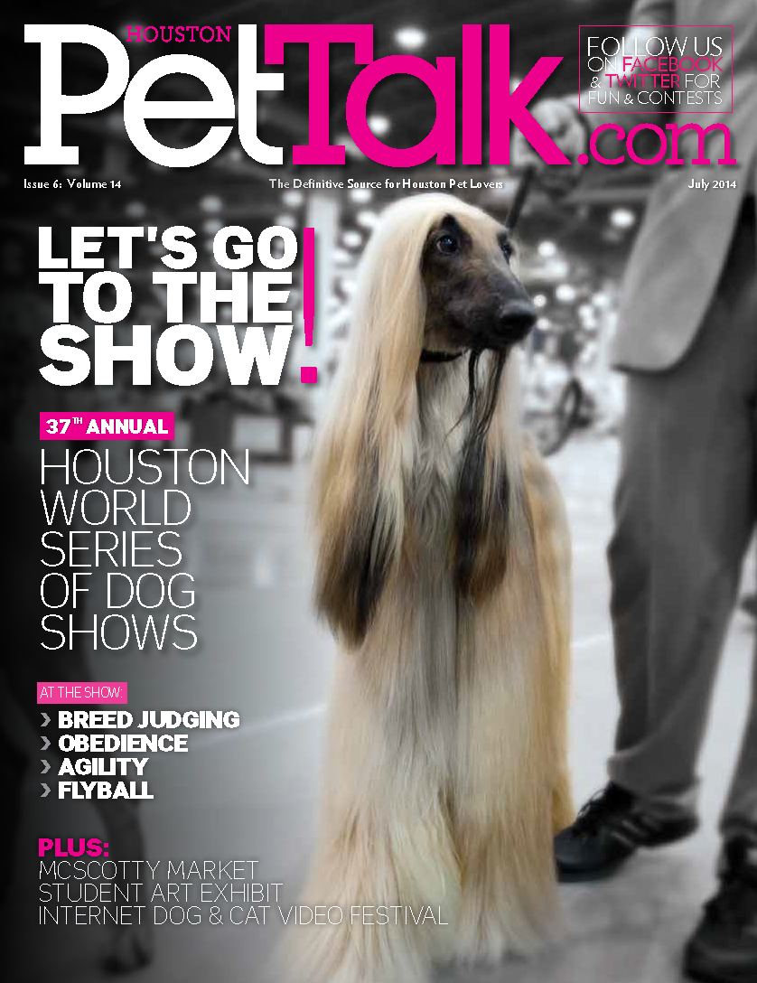 July 2014 Digital Issue of Houston PetTalk