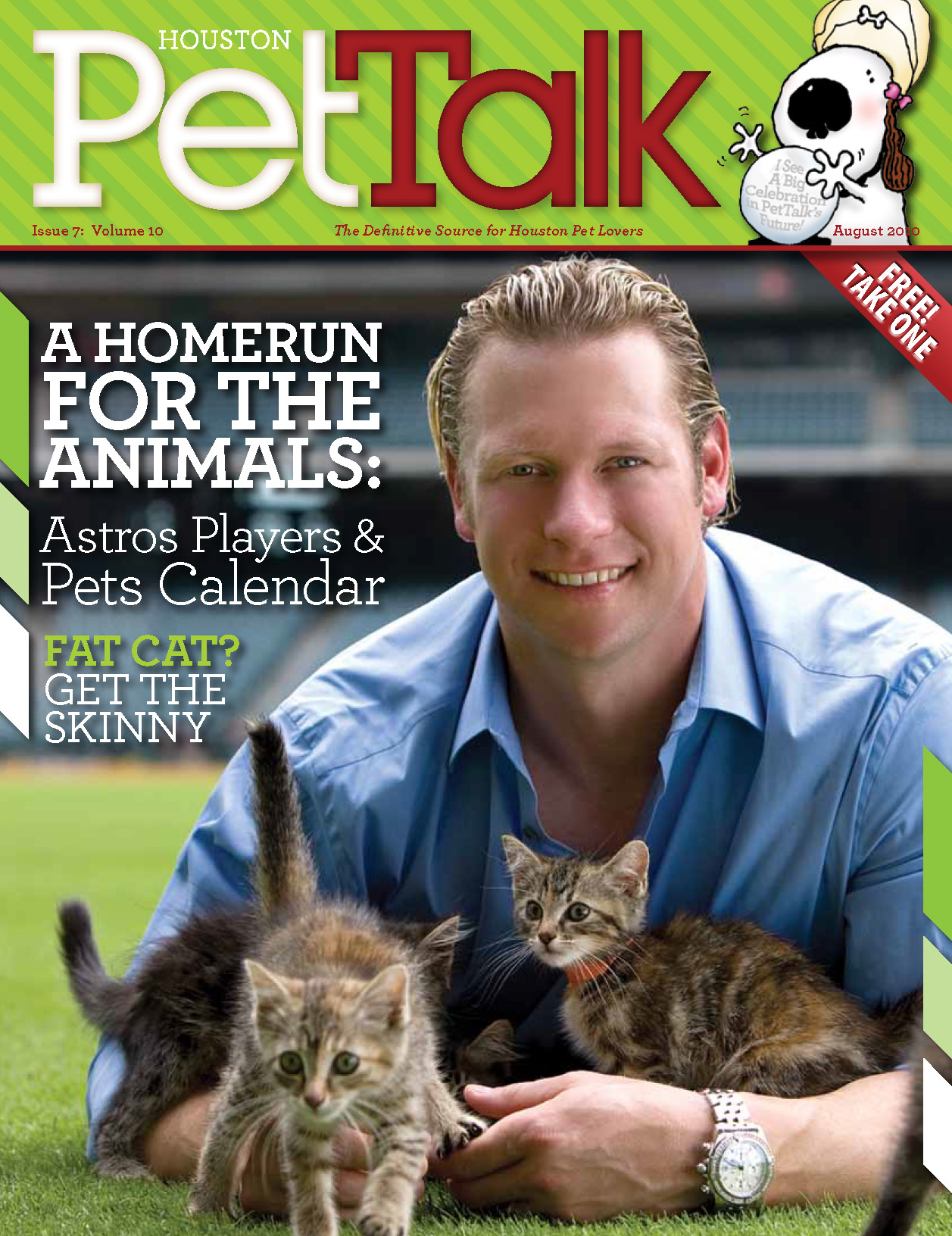 August 2010 Digital Issue of Houston PetTalk