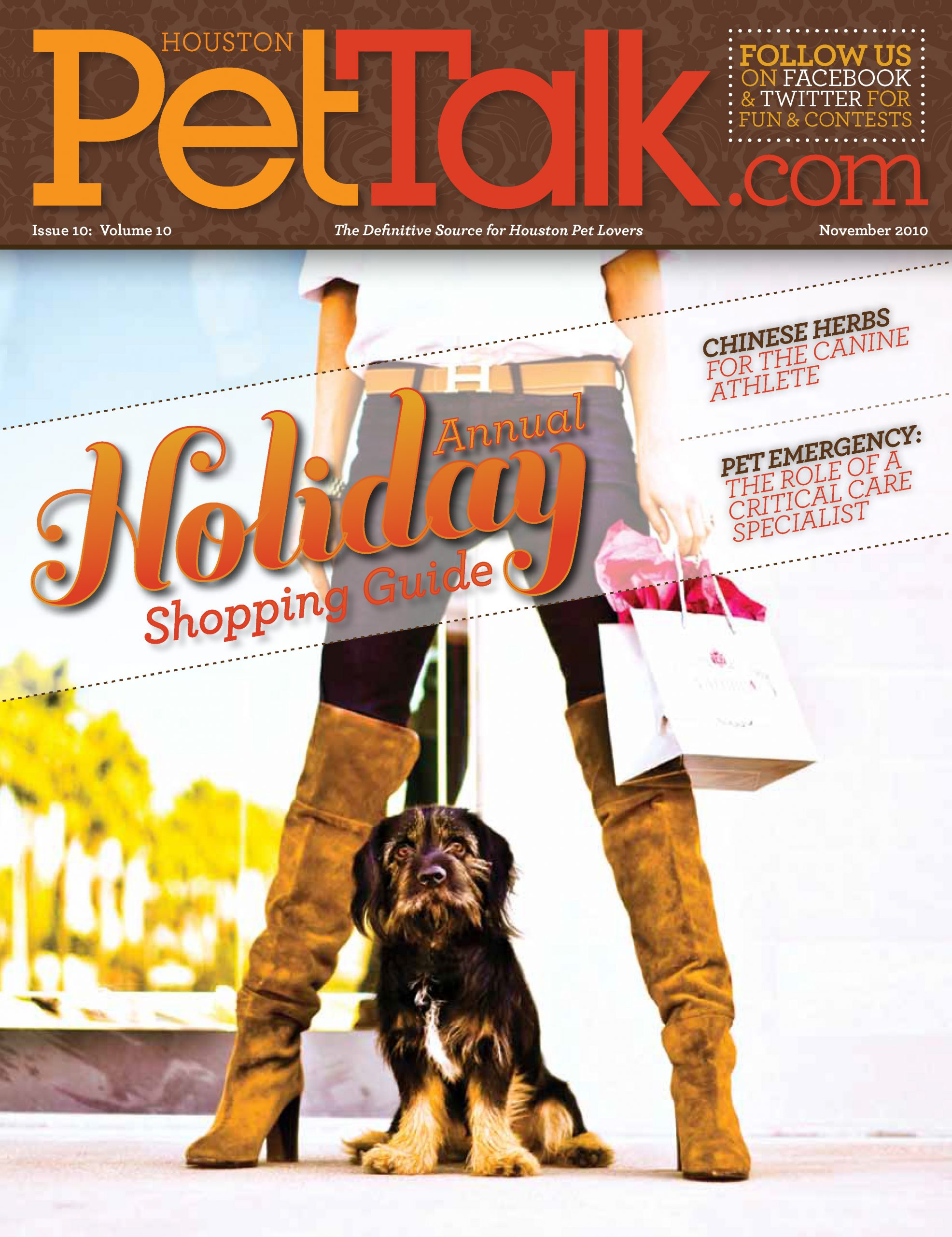 November 2010 Issue of Houston PetTalk