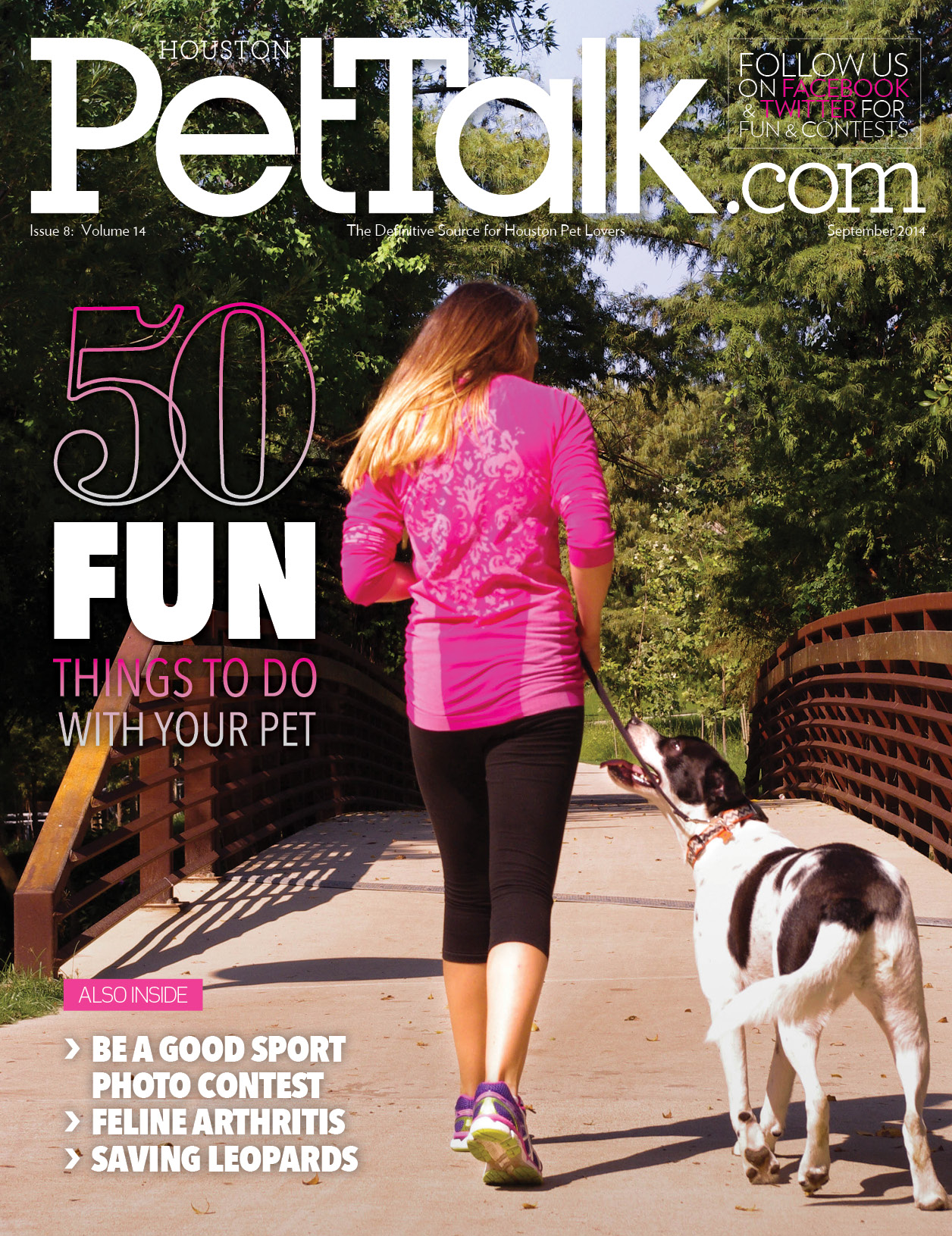 September 2014 Digital Issue of Houston PetTalk
