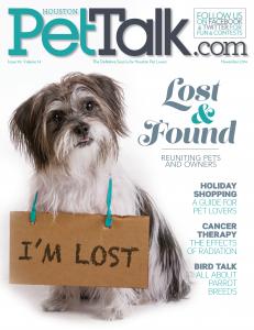 PetTalk 98 November Cover