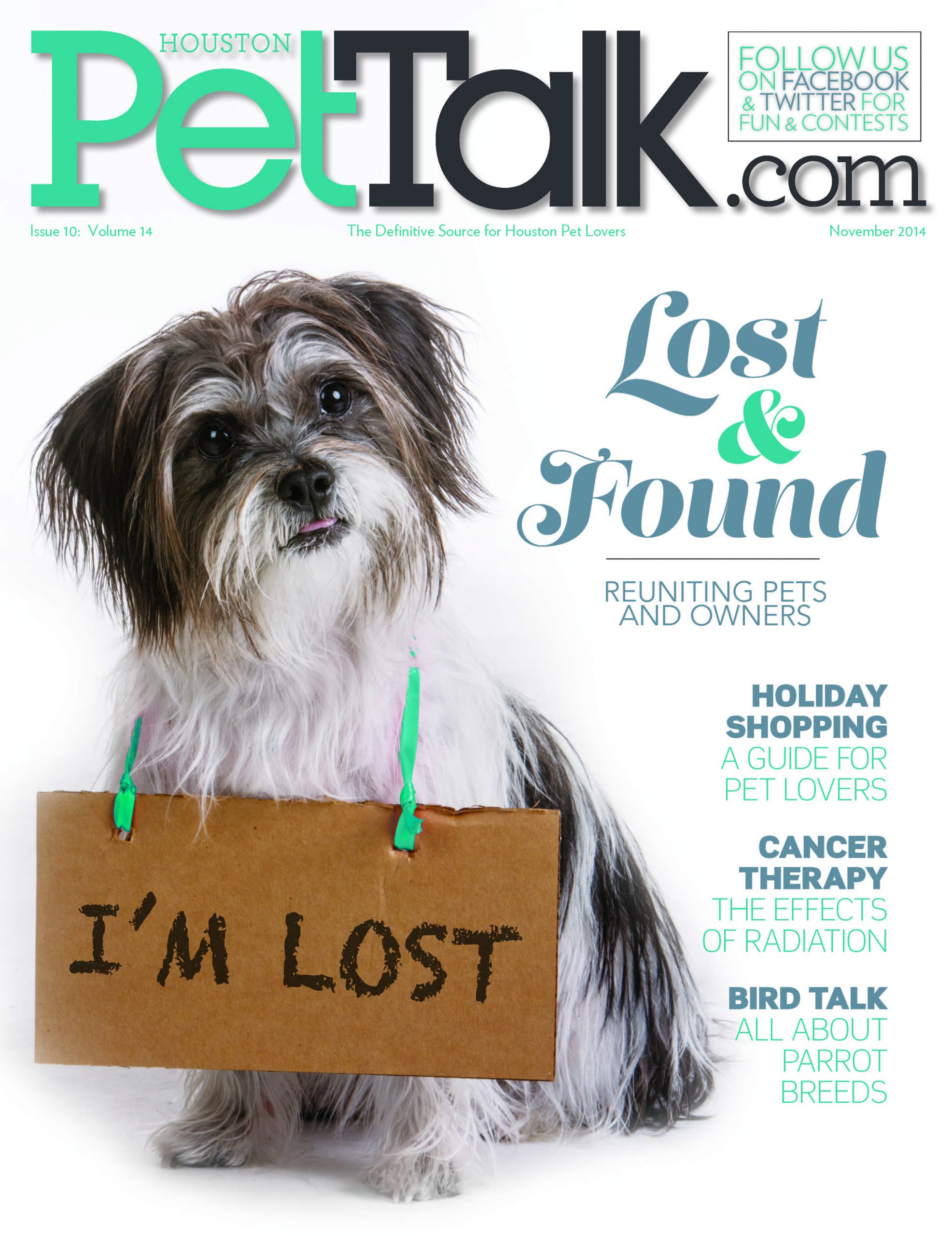 November 2014 Digital Issue of Houston PetTalk