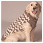 Warm Chevron Sweater $33-40 at Doggy in Wonderland