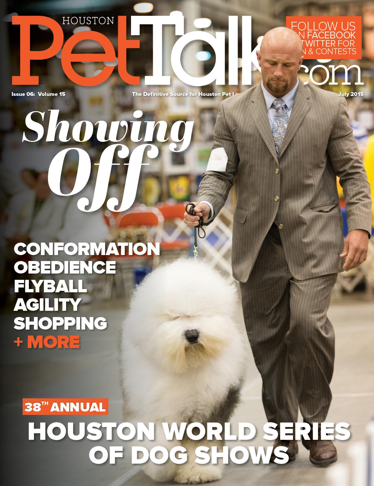 July 2015 Digital Issue of Houston PetTalk