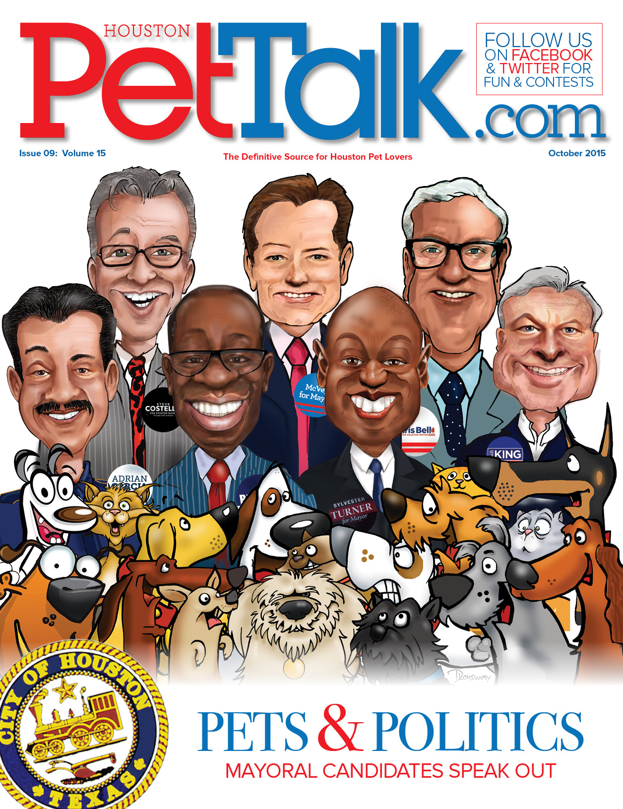 October 2015 Digital Issue of Houston PetTalk