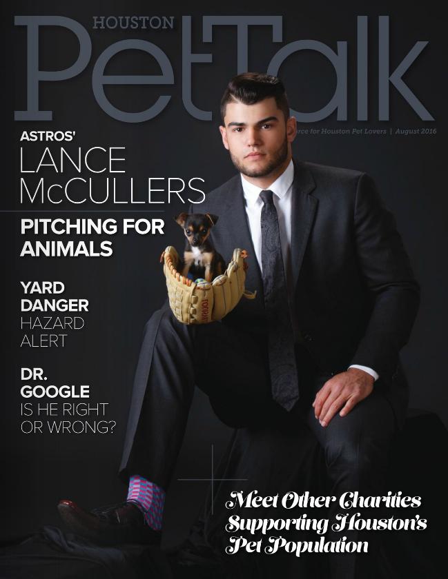 August 2016 Digital Issue of Houston PetTalk