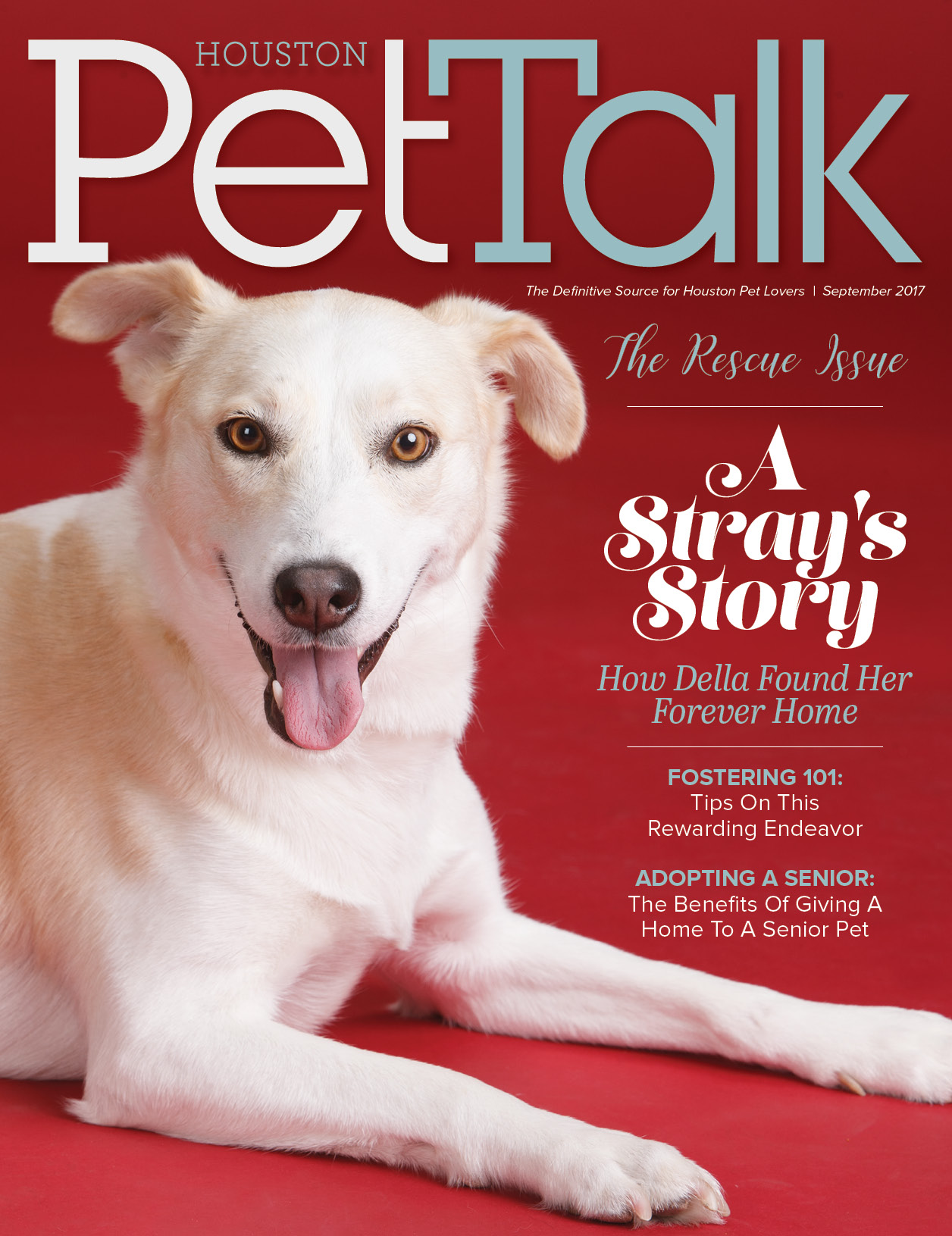 September 2017 Digital Issue of Houston PetTalk