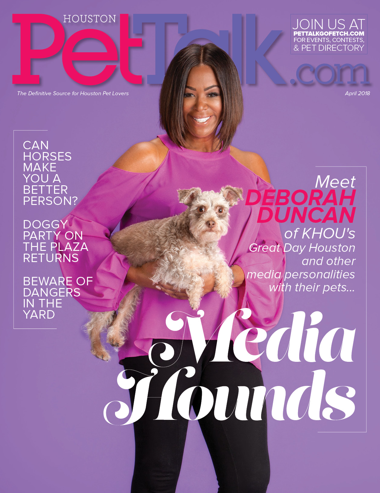 April 2018 Digital Issue of Houston PetTalk