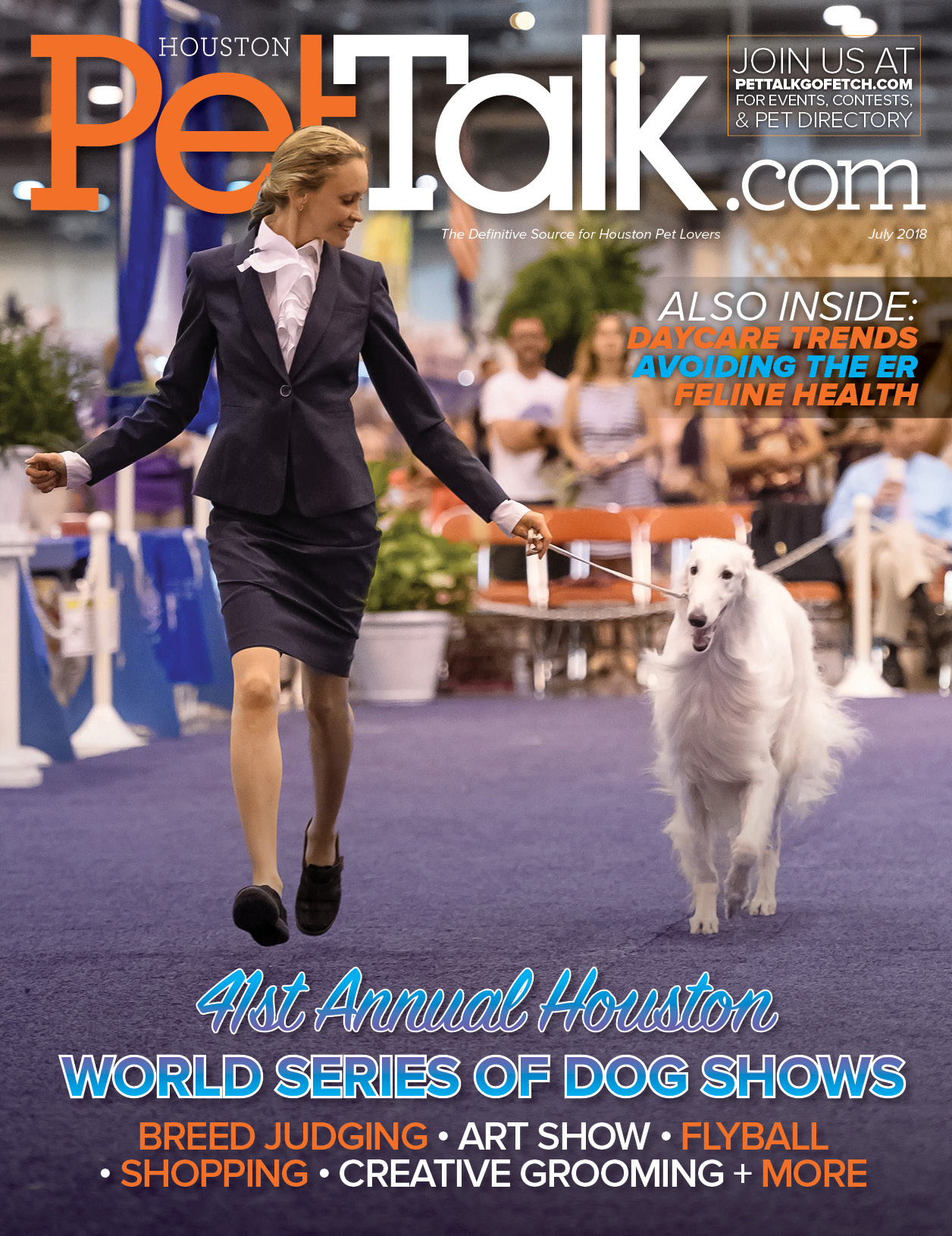 July 2018 Digital Issue of Houston PetTalk