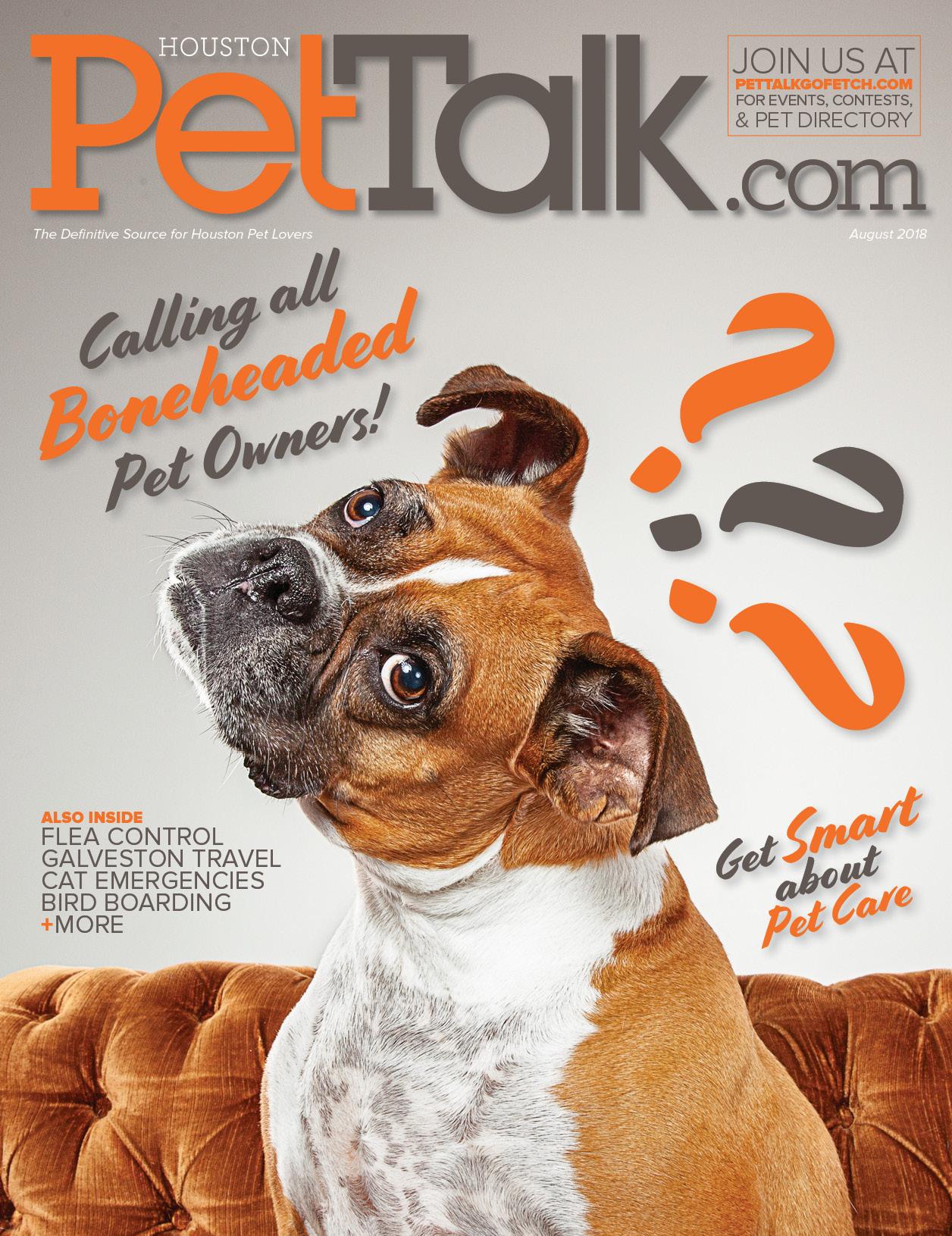 August 2018 Digital Issue of Houston PetTalk