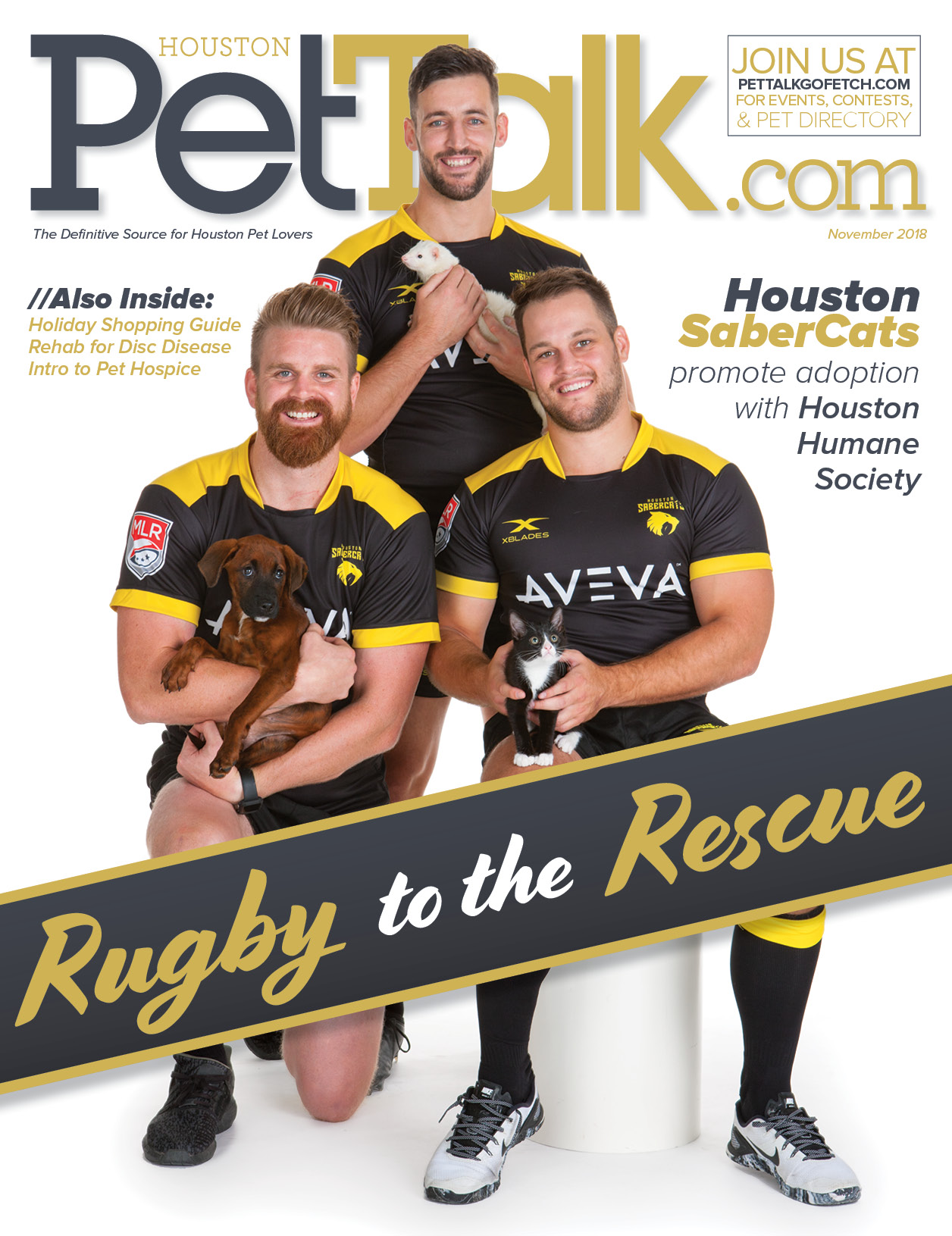 November 2018 Digital Issue of Houston PetTalk