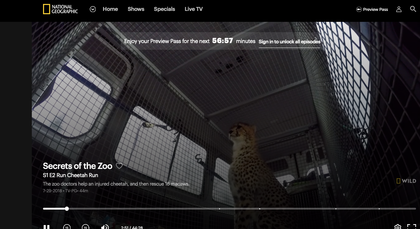 Sneak Preview of Nat Geo Wild's  Secrets of the Zoo