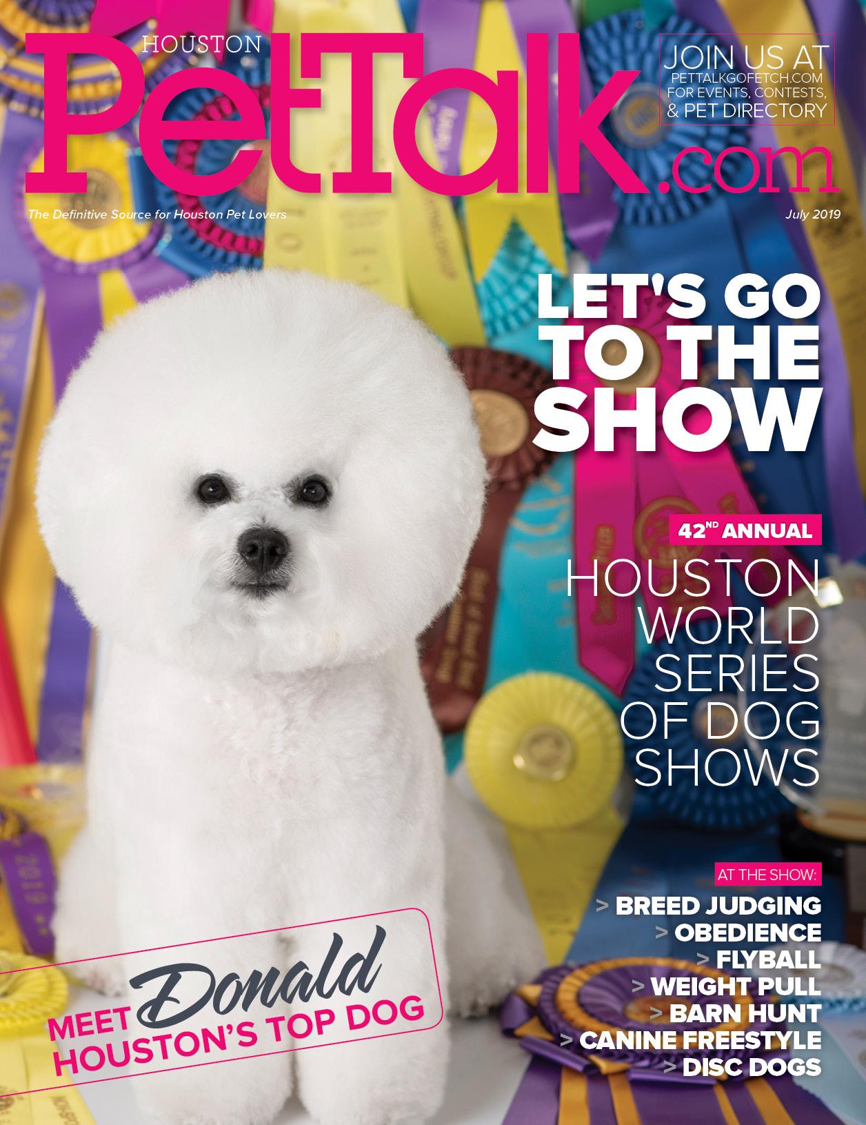 July 2019 Digital Issue of Houston PetTalk