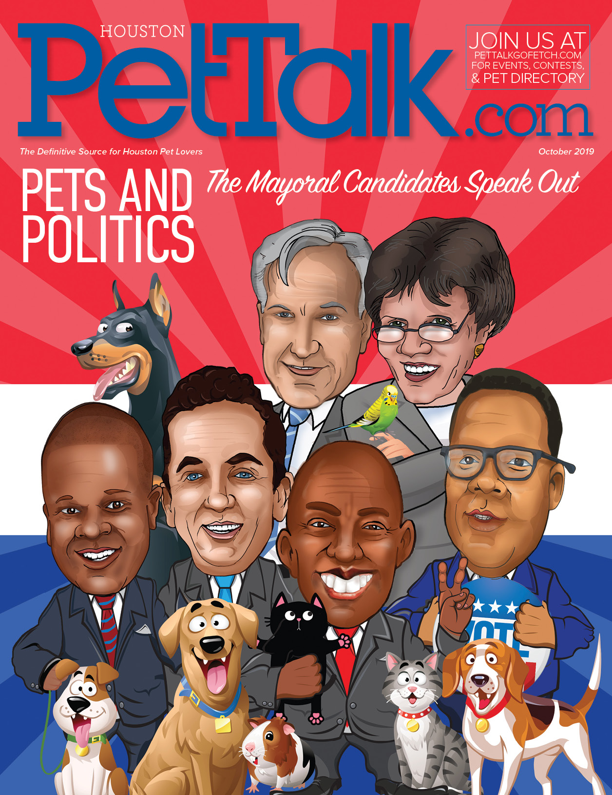 October 2019 Digital Issue of Houston PetTalk